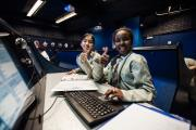 Student 'astronauts' at a Challenger Center Space Mission